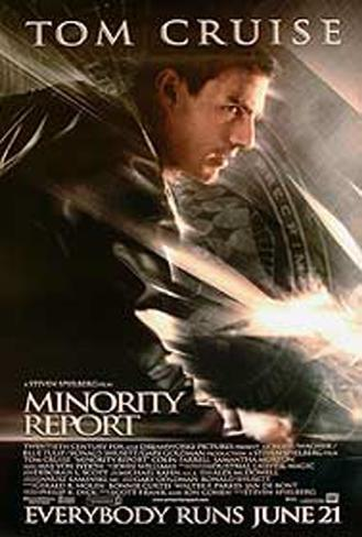 Minority Report Original Poster