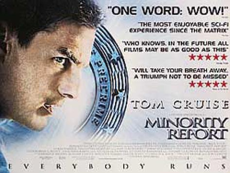 Minority Report Original Poster