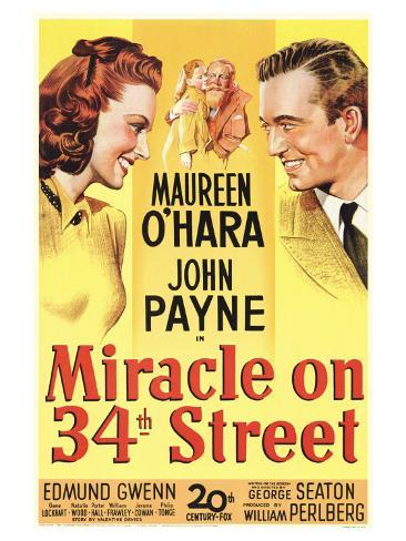 Miracle On 34th Street, 1947 Art Print