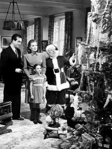 Miracle on 34Th Street, John Payne, Maureen O'Hara, Natalie Wood, Edmund Gwenn, 1947 Photo