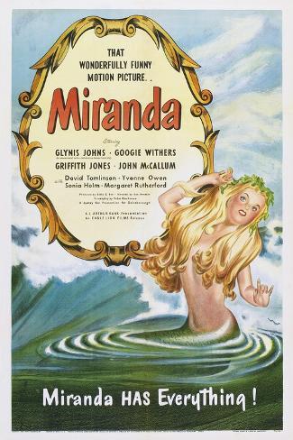 Miranda, 1948 Art Print