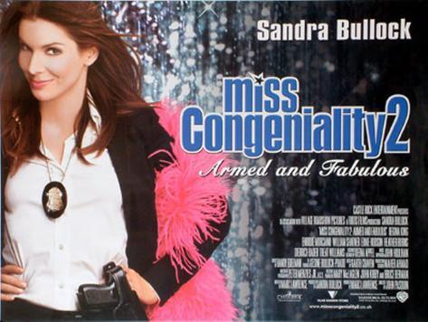 Miss Congeniality 2 Original Poster