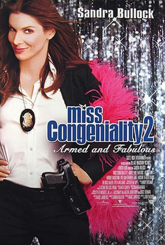 Miss Congeniality Double-sided poster