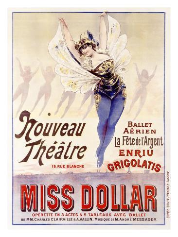 Miss Dollar Giclee Print
