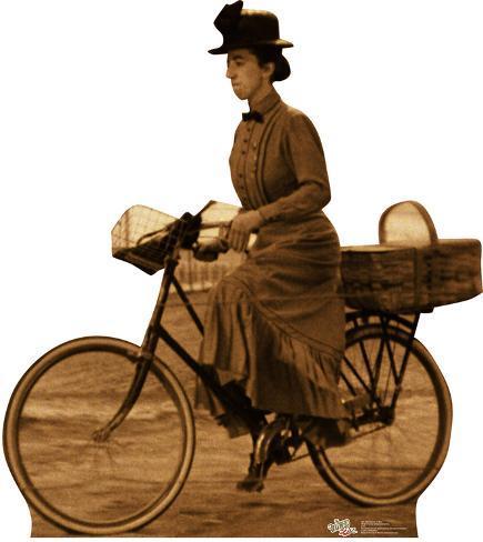 Miss Gulch on Bike - Wizard of Oz Cardboard Cutouts