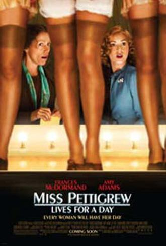 Miss Pettigrew Lives For A Day Double-sided poster