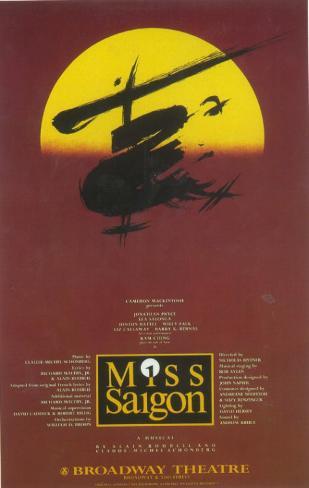 Miss Saigon Masterprint
