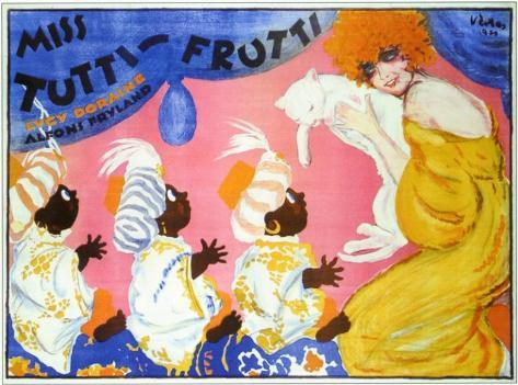 Miss Tutti Frutti Masterprint