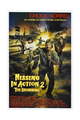 Missing in Action 2: The Beginning, Chuck Norris, 1985, © Cannon films/courtesy Everett Collection Premium Giclee Print