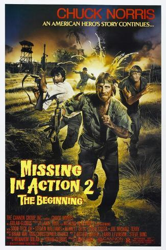 Missing in Action 2: The Beginning, Chuck Norris, 1985, © Cannon films/courtesy Everett Collection Art Print