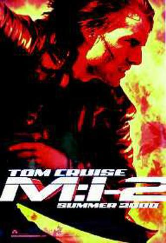 Mission Impossible 2 Original Poster