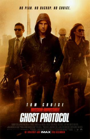 Mission: Impossible - Ghost Protocol Lámina maestra