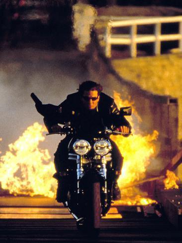 Mission Impossible II De Johnwoo Avec Tom Cruise 2000 Photo