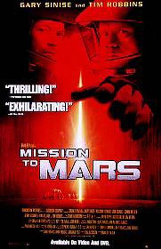 Mission To Mars Original Poster