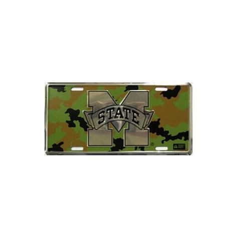 Mississippi State Camo Tin Sign