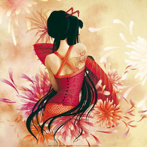 Miss Swan Art by Misstigri - AllPosters.co.uk