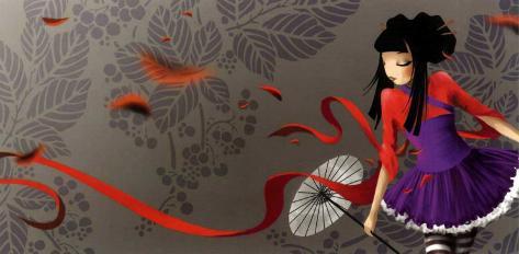 Miss Tokyo Stampa artistica