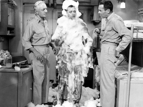 Mister Roberts, William Powell, Jack Lemmon, Henry Fonda, 1955 Valokuva