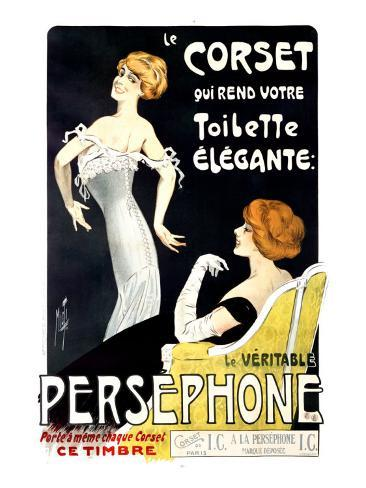 Persephone Corset Giclee Print