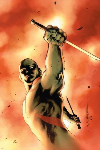 Drax The Destroyer No.3 Cover: Drax The Destroyer Fighting Poster