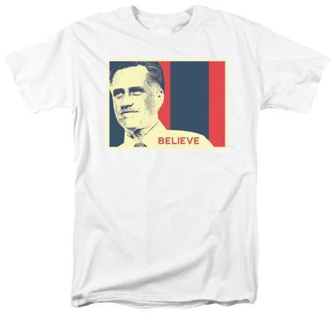 Mitt Romney - Believe Again T-Shirt