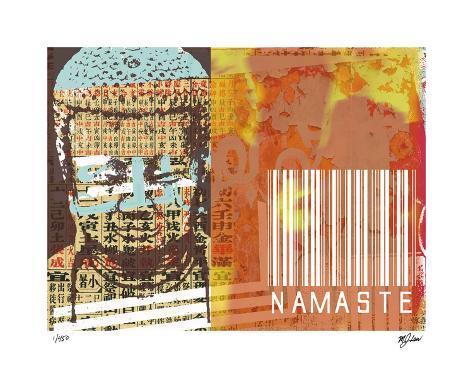 Namaste II Giclee Print