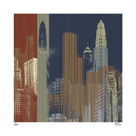 Urban Colors II Giclee Print