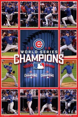 MLB: 2016 World Series Champion Team Pôster