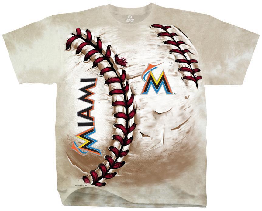 MLB: Miami Marlins- Hardball Camisetas en AllPosters.es