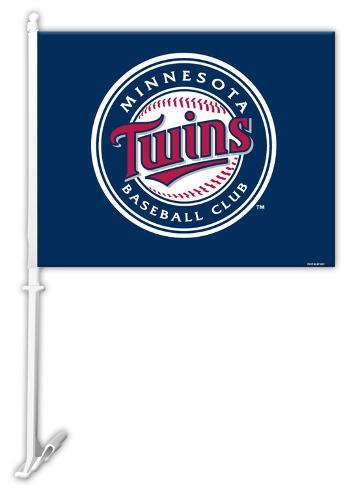 MLB Minnesota Twins Car Flag Flag
