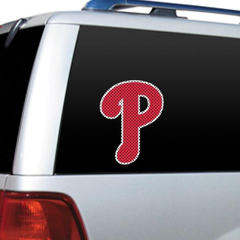 MLB Philadelphia Phillies Diecut Window Film Window Decal