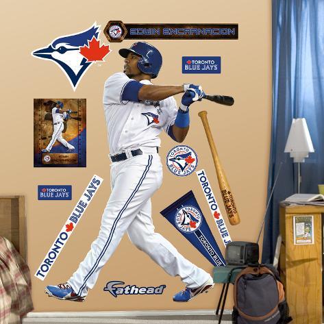 MLB Toronto Blue Jays Edwin Encarnacion Wall Decal & MLB Toronto Blue Jays Edwin Encarnacion Wall Decal Wall Decal ...