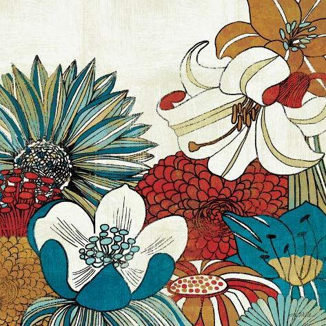 Contemporary Garden II Premium Giclee Print