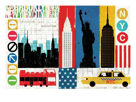 New York City Experience Art Print