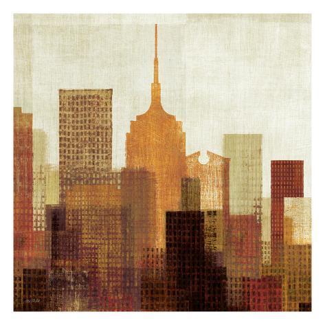 Summer in the City II Art Print