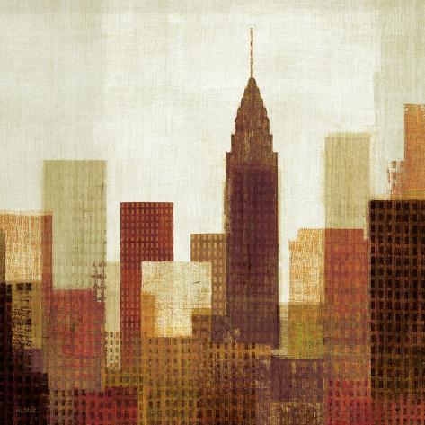 Summer in the City III Art Print