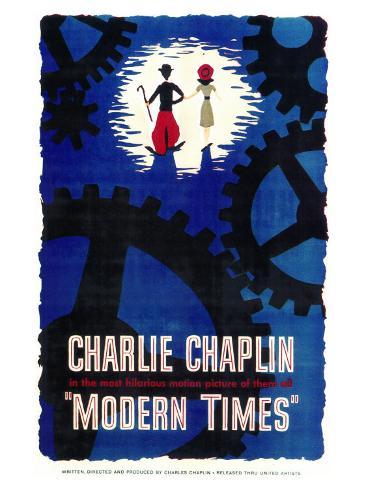 Modern Times, 1936 Konstprint