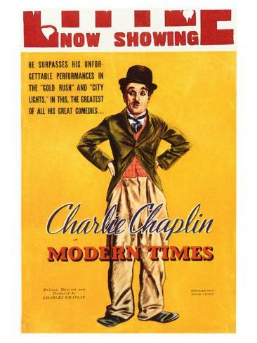 Modern Times, 1936 Premium Giclee Print