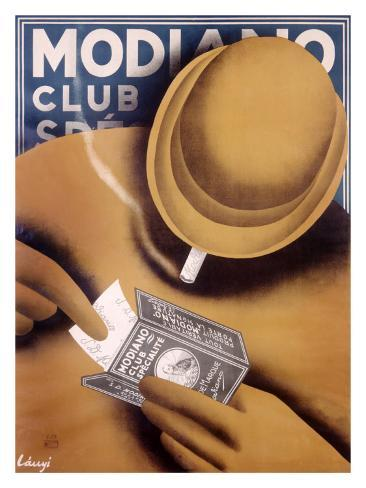 Modiano Cigarette Papers Giclee Print
