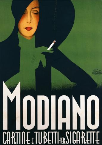 Modiano Art Print