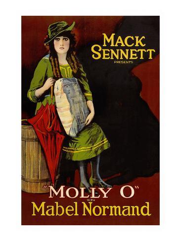 Molly O Art Print