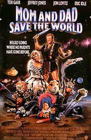 Mom And Dad Save The World Original Poster