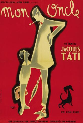 Mon Oncle - French Style Poster