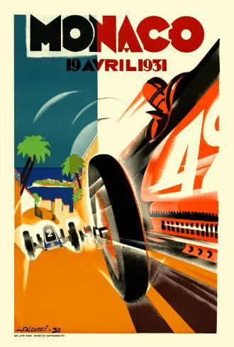 Monaco Grand Prix, 1931 アートプリント