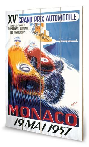 Monaco Träskylt