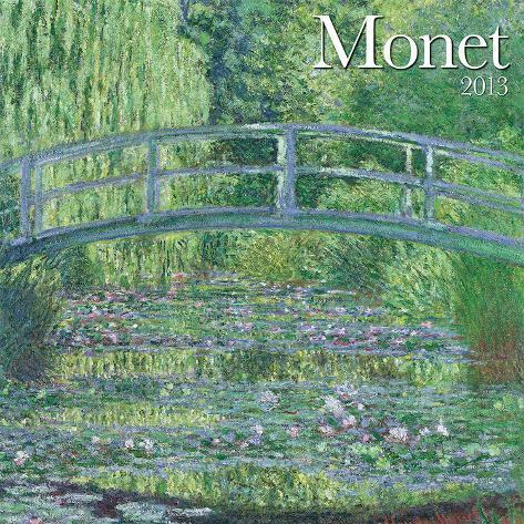 Monet - 2013 Wall Calendar Calendars