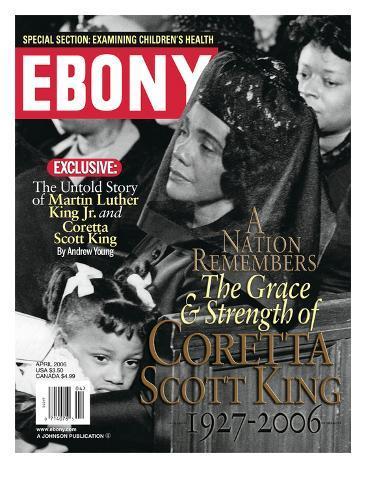 Ebony April 2006 Photographic Print