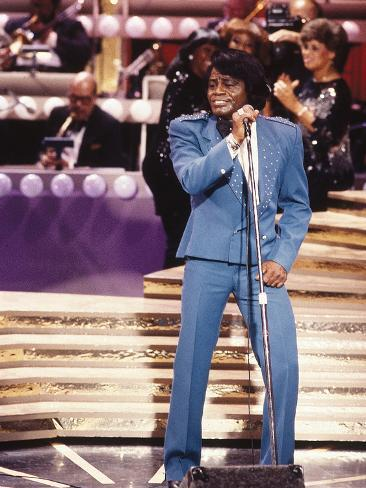 James Brown Performing Photographic Print