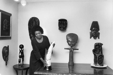 Maya Angelou Photographic Print