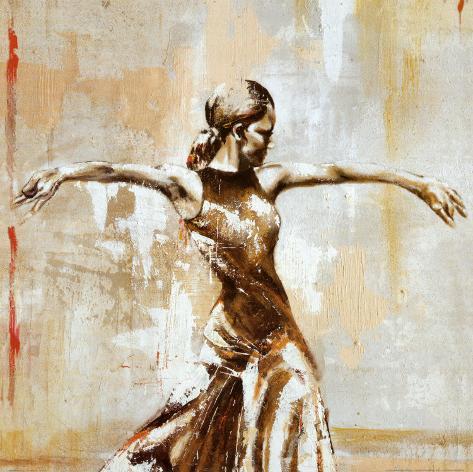 Flamenco I Art Print